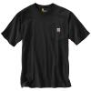 Carhartt Men's Workwear Pocket SS T Shirt - Medium Regular - Black