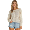 Billabong Women's Chill Out Top - Large - White Cap