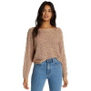 Billabong Women's Chill Out Top - Large - Warm Sand