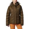 Columbia Women's Lay D Down II Jacket - XL - Olive Green Dobby