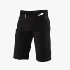 100% Men's AIRMATIC Short - 34 - Black