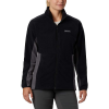 Columbia Women's Basin Trail Fleece Full Zip - 3X - Black / City Grey