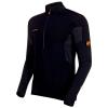 Mammut Men's Moench Advanced Half Zip LS T-Shirt - Large - Black