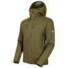 Mammut Men's Rime IN Flex Hooded Jacket - Small - Iguana