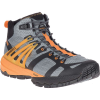 Merrell Men's MQM Ace Mid Waterproof Shoe - 7.5 - Monument / Flame