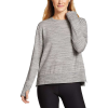 Eddie Bauer Motion Enliven LS Step Hem Sweatshirt - Medium - Snow