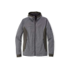 Mammut Men's Elwha Hooded Jacket - Medium - Black Melange / Graphite