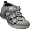 Keen Toddler Newport H2 Shoe - 4 - Steel Grey / Glow