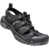 Keen Men's Newport H2 Sandal - 9.5 - Black / Swirl Outsole