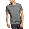 Eddie Bauer Motion Men's Trailcool SS Tee - Large - Medium Heather Gray