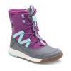 Merrell Youth Snow Crush Waterproof Boots - 4 - Purple / Turquoise