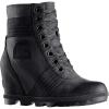 Sorel Women's Lexie Wedge Boot - 7.5 - Touchy - Black