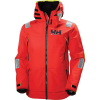 Helly Hansen Men's Aegir Race Jacket - Medium - Alert Red
