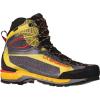La Sportiva Men's Trango Tech GTX Boot - 41.5 - Black / Yellow