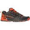 La Sportiva Men's Bushido II Shoe - 40 - Carbon / Tangerine