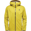 Black Diamond Men's StormLine Stretch Rain Shell - Medium - Sulphur