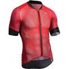 Sugoi Men's RS Climber's Jersey - Medium - Red Dahlia / Mountain Print