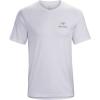 Arcteryx Men's Emblem SS T-Shirt - Medium - White