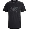 Arcteryx Men's Archaeopteryx SS T-Shirt - Small - Black Heather
