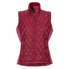 Marmot Women's Kitzbuhel Vest - Medium - Claret / Dry Rose