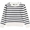 Roxy Women's Deep Honey Sweater - Medium - Snow White Parisan Stripes
