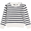 Roxy Women's Deep Honey Sweater - Large - Snow White Parisan Stripes
