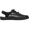 Keen Men's Uneek Sandal - 7 - Black / Black