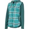 Marmot Women's Reagan Midweight Flannel LS Shirt - Small - Mallard Green