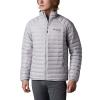 Columbia Men's Alpha Trail Down Jacket - Medium - Slate Grey