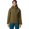 Mountain Hardwear Women's Cloud Bank GTX Insulated Jacket - Medium - Combat Green