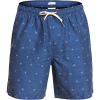 Quiksilver Men's Airbourne Fishes 18 Volley Short - Large - Estate Blue