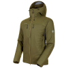 Mammut Men's Rime IN Flex Hooded Jacket - Medium - Iguana