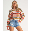 Billabong Women's Easy Going Sweater - Medium - Samba