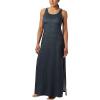 Columbia Women's Freezer Maxi Dress - Large - Black Seaside Swirls Print