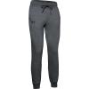 Under Armour Women's Rival Fleece Sportstyle Graphic Jogger - Medium - Jet Grey Medium Heather / Jet Grey / Black