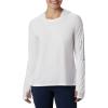 Columbia Women's Tidal Tee Hoodie - Large - White / Cirrus Grey Logo