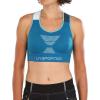 La Sportiva Women's Focus Top - Medium - Neptune / White