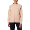 Columbia Women's Bryce Peak Perforated Full Zip Jacket - Small - Peach Cloud