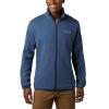 Columbia Men's Town Park Midlayer Full Zip Jacket - Large - Dark Mountain