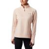 Columbia Women's Irico Half Zip Top - XL - Peach Cloud