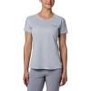 Columbia Women's Irico Knit SS Shirt - Large - Cirrus Grey