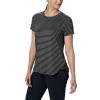 Columbia Women's Firwood Camp II SS Tee - Large - Black Medium Stripe