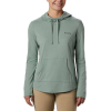 Columbia Women's Solar Shield Hoodie - Medium - Light Lichen