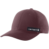 Carhartt Men's Rugged Flex Fitted Canvas Full-Back Logo Graphic Cap