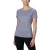Columbia Women's Peak To Point II SS Tee - XS - New Moon Heather