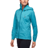 Black Diamond Women's FineLine Stretch Rain Shell - XL - Aqua Verde