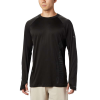 Columbia Men's PFG Buoy Knit LS Shirt - XL - Black