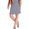 Toad & Co Women's Chaka Skirt - Large - True Navy Stripe