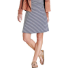 Toad & Co Women's Chaka Skirt - XL - True Navy Stripe