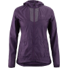 Louis Garneau Women's Modesto Hoodie Jacket - XL - Logan Berry
